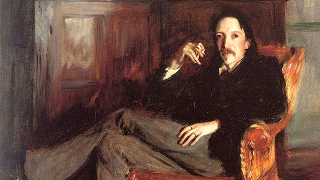 (Creative Commons)Robert Louis Stevenson portrait